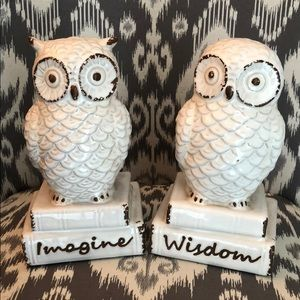 Owl Statue Set